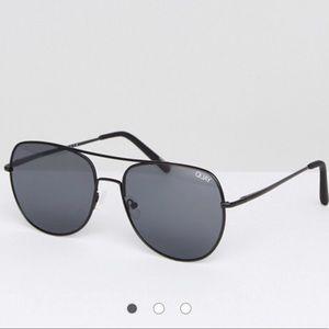 Quay supernova Black aviator sunglasses 🕶